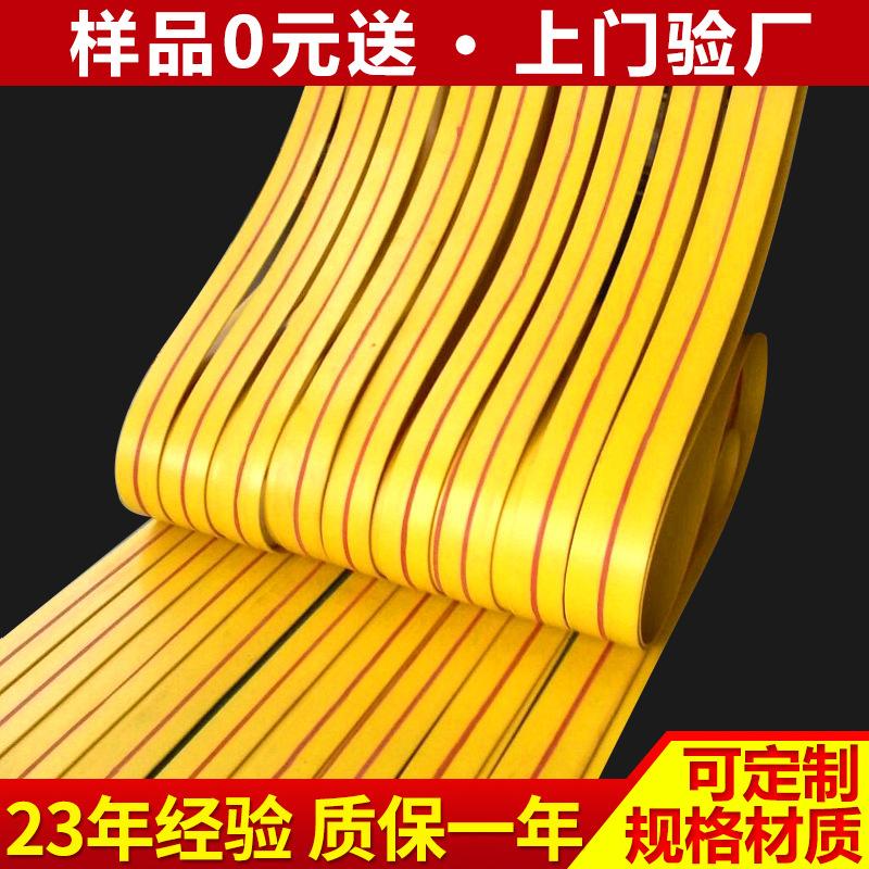 厂家生产帆布平胶带 输送传动带工业 提升机皮带 传动皮带平带