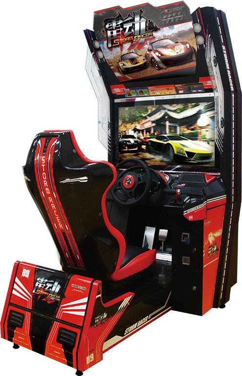 大型二手游戏机厂家加工制作 液晶金属 休闲娱乐 赛车机