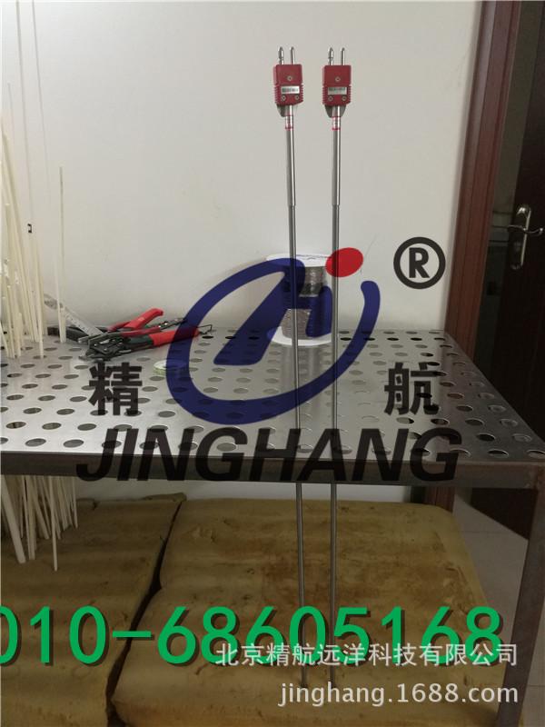 压力炉单芯钨铼热电偶 钼保护管 无固定装置