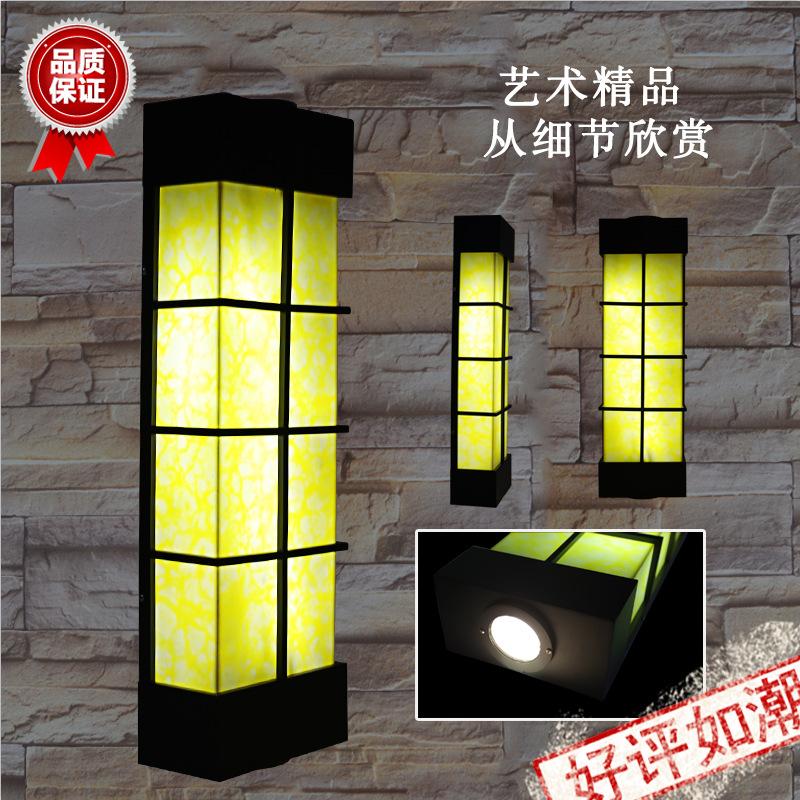 现货房地产户外防水防锈室外仿云石壁灯景观照明外墙灯别墅LED