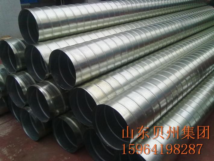 不锈钢螺旋风管 空调风机 螺旋风管 不锈钢
