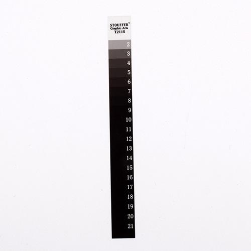 美国STouffer21格曝光尺