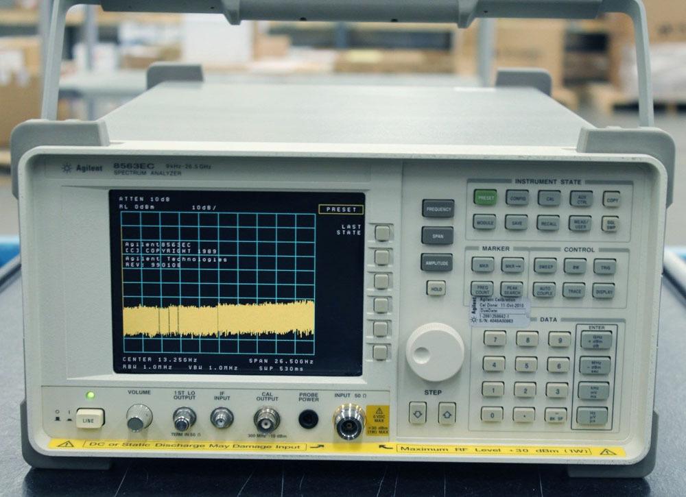 **公司现货安捷伦频谱分析仪8563E(26 网络频谱分析仪 参数测试