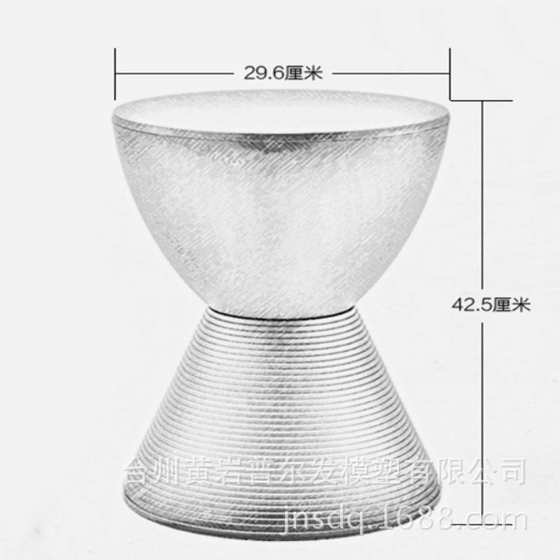 特殊圆形凳子9825 注射成型模 单型腔模具 固定式模具