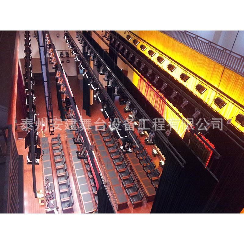 厂家制作安装成套舞台升降吊杆设备 灯光类机械