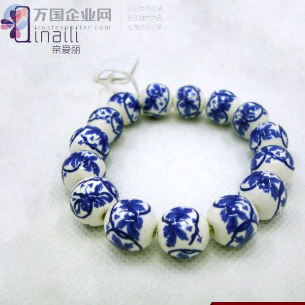 亲爱丽饰品配件手链陶瓷佛珠子