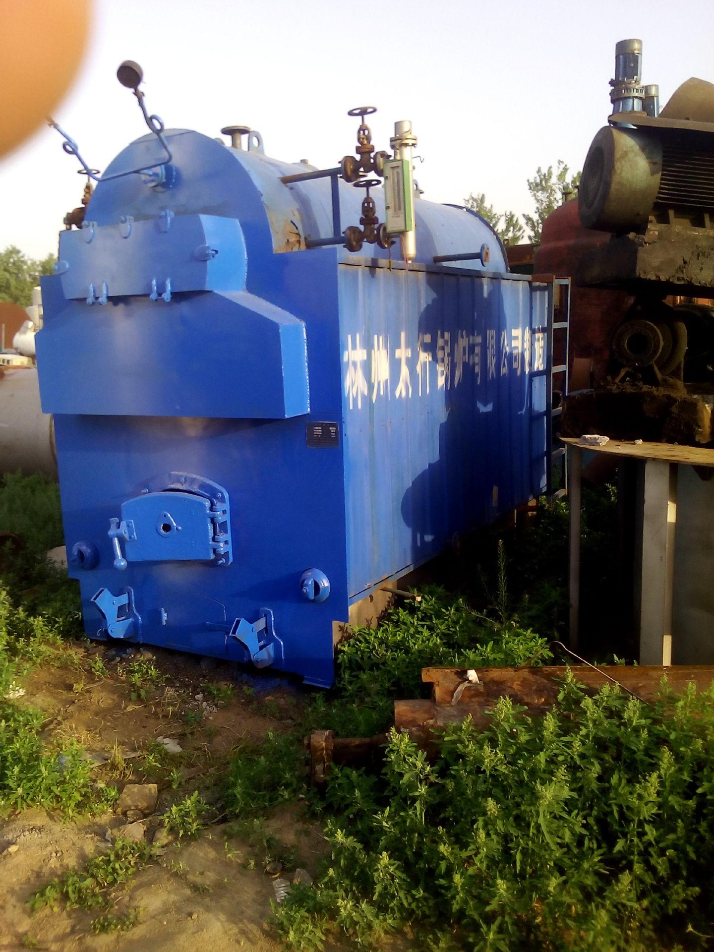 庆华出售二手4吨燃煤蒸汽锅炉 快装锅炉 各种型号 工业锅炉