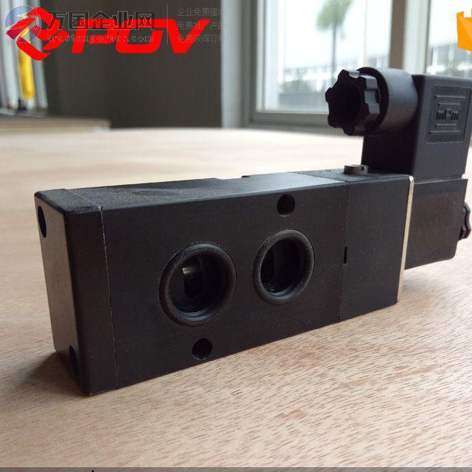 用于单作用气动阀门气源换向 POV 压铸铝 内螺纹 二位三通