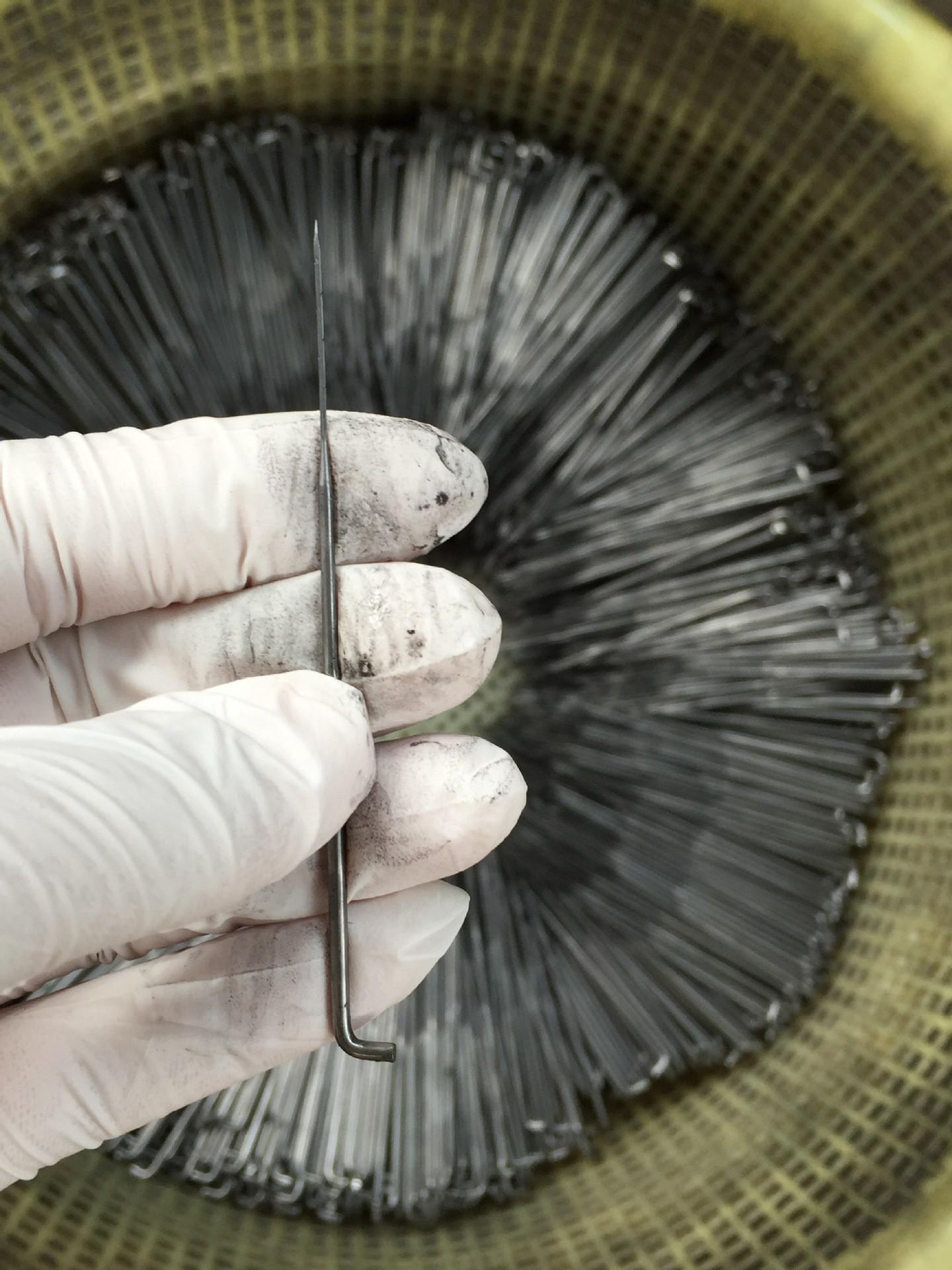 三角植绒针抛光针纺织机械纺机配件