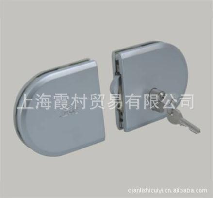 供应超凡不锈钢单开双开对接CFF-657玻璃门锁五金配件