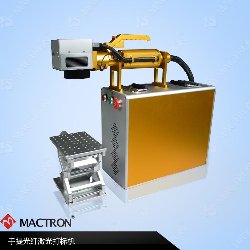 光纤激光机刻字机高效率 金属打码机 双向打印 全自动