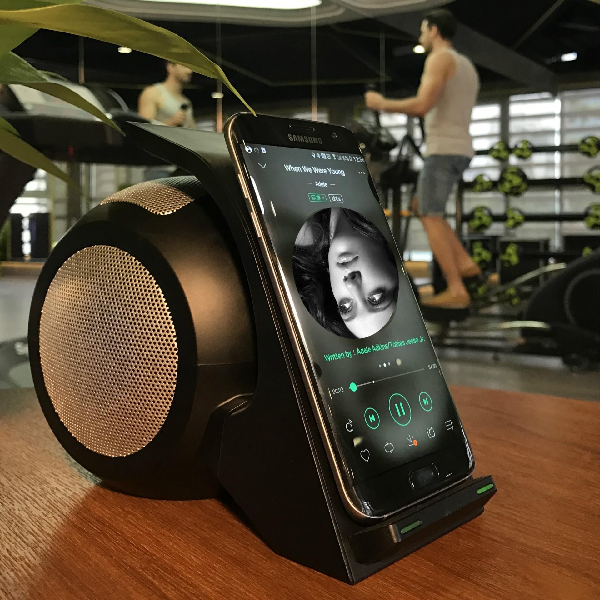 音响双线圈快充苹果三星S8 SMAMAO/数码猫 多功能智能产品 ABS