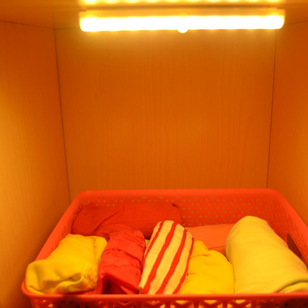 离奇特创意LED现货人体感应衣柜灯 led灯 感应式