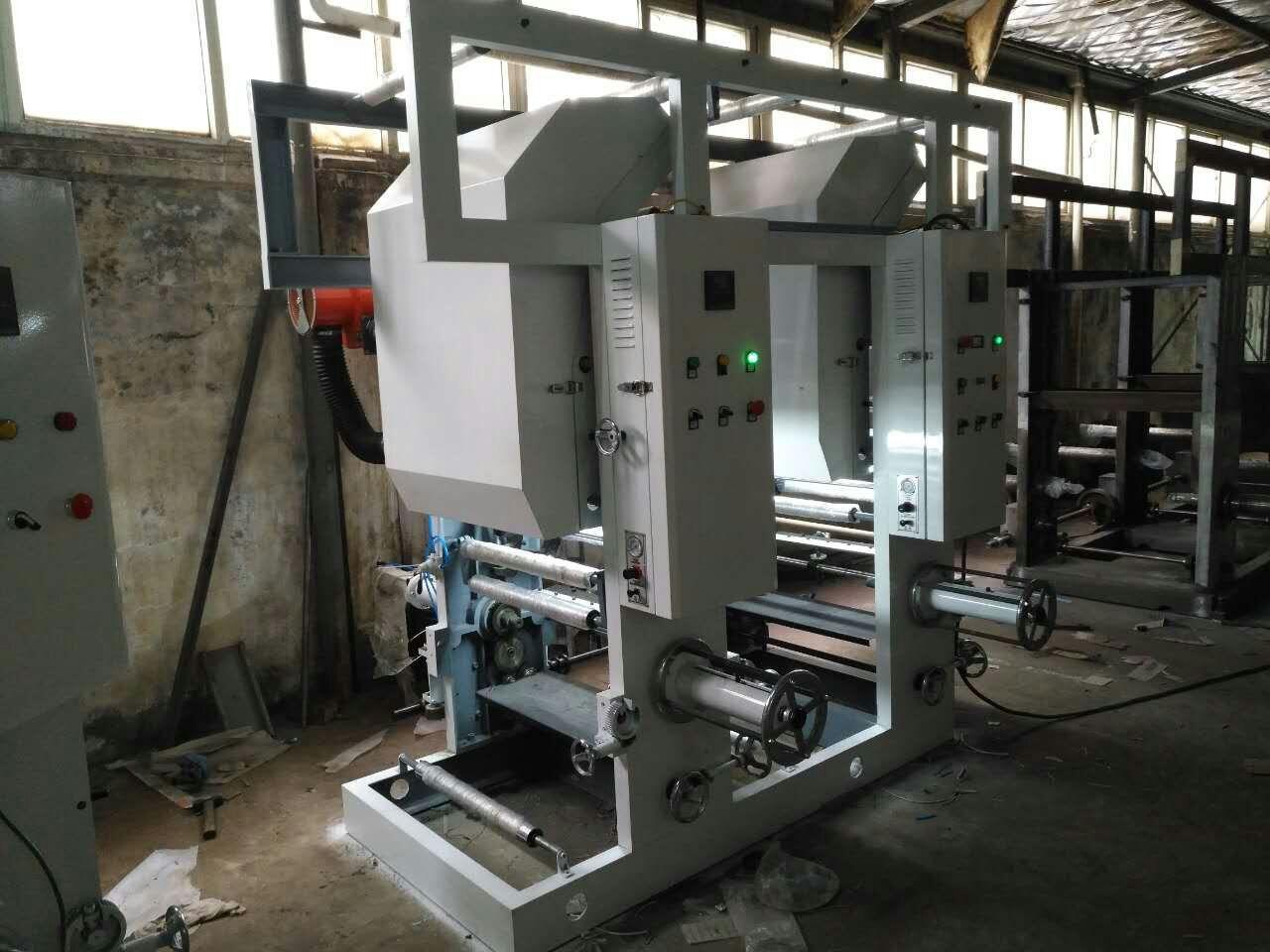 水性油墨印刷机 塑料软包装 风机和加热管 中心式式收卷