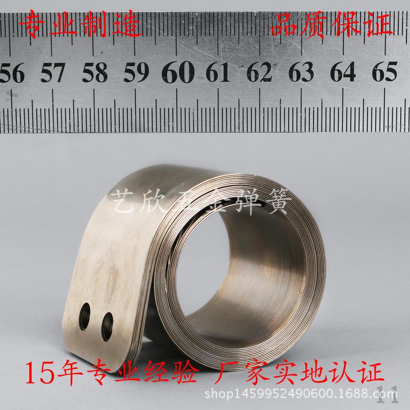 专业生产多层高质量平面涡卷弹簧 启动器收线动力发条涡卷弹簧