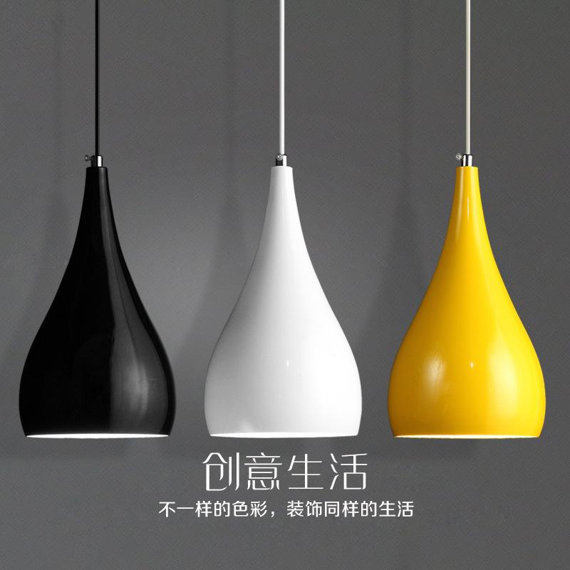 简洁古代圆形餐厅灯创意LED三头餐吊灯灯吧台共性灯具厂家直销