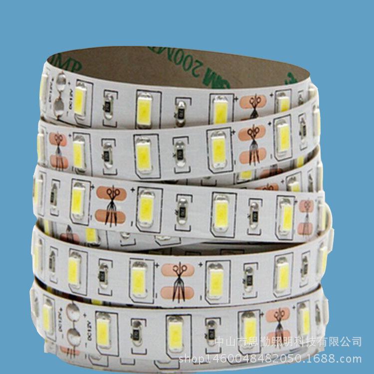 5730三安高亮led软灯条贴片灯带现货促销12v低压陈列展示暗槽灯 思勤照明