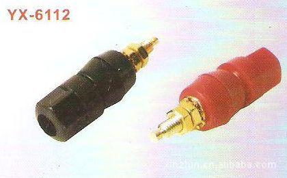 供应铜质功放喇叭接线柱YX6112 DC/DC