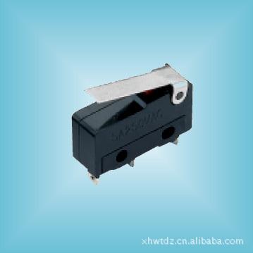 中微动开关带柄 xhwtdz 微电流型 单联型 防尘型 耐高温型 ROHS