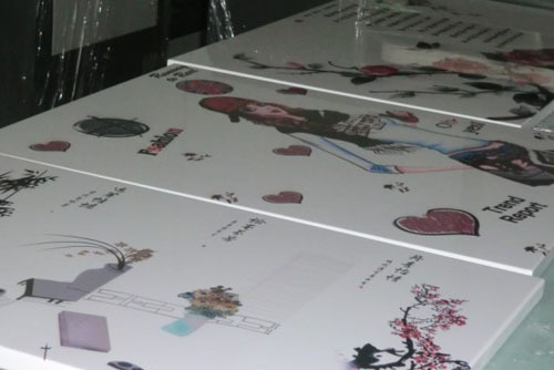 承接塑胶印刷加工 塑料片材 表面整饰加工 快递送货
