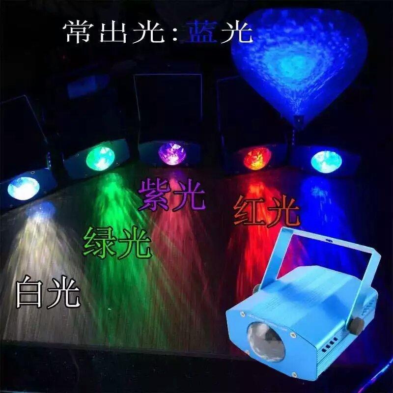 LED陆地水纹灯建材模型装璜 伟峰舞台灯光 水纹灯