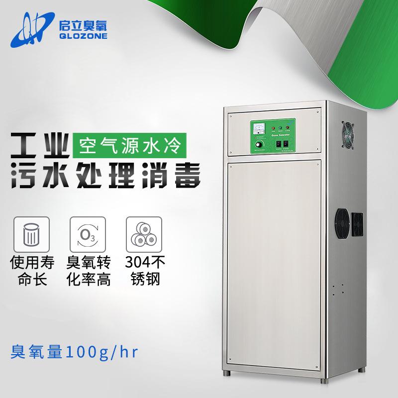 启立100G水箱自洁式消毒器 泳池臭氧消毒设备