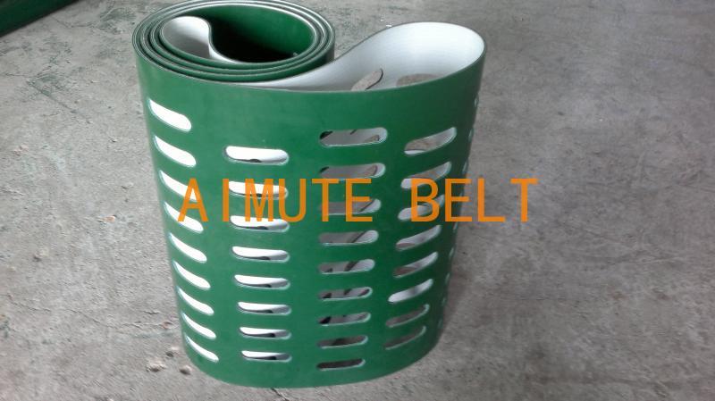 非凡加工打孔保送带 非标准件 AIMUTEBELT 非标定制 PVC、