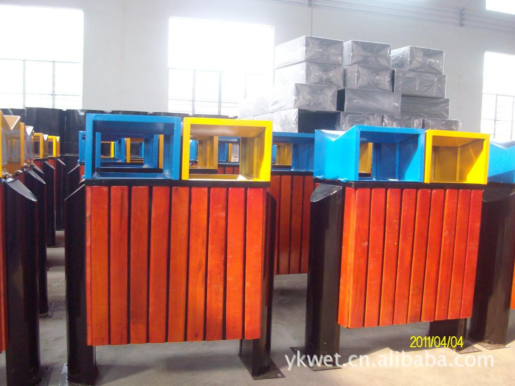 批发垃圾桶钢木垃圾桶环卫垃圾桶户外垃圾桶垃圾车果壳箱