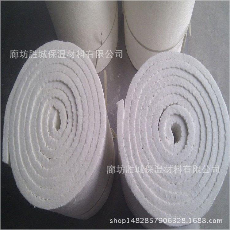 业余消费硅酸铝纤维针刺毯 硅酸铝耐火纤维毯 PVC/NBR 纤维状