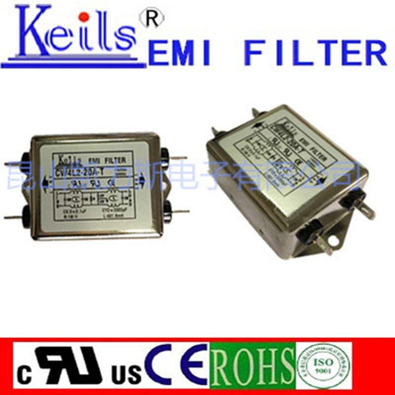 台湾电源滤波器DC keils 滤波器 单层密绕式