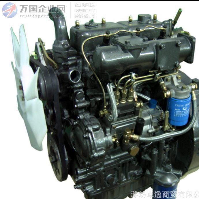 莱动多缸机KM390BT柴油机  电启动