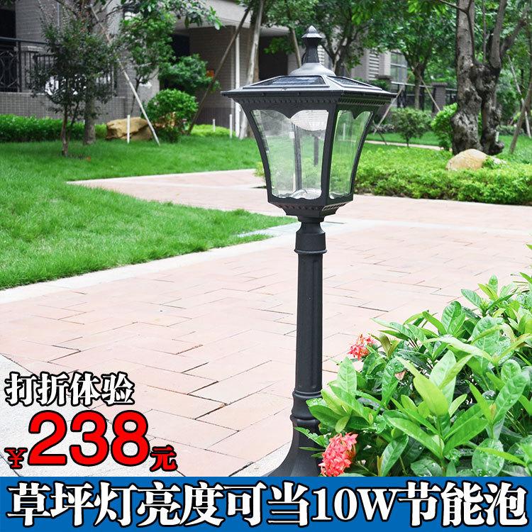 LED超亮户外家用太阳能灯 太阳能草坪灯 LED 白光黄光