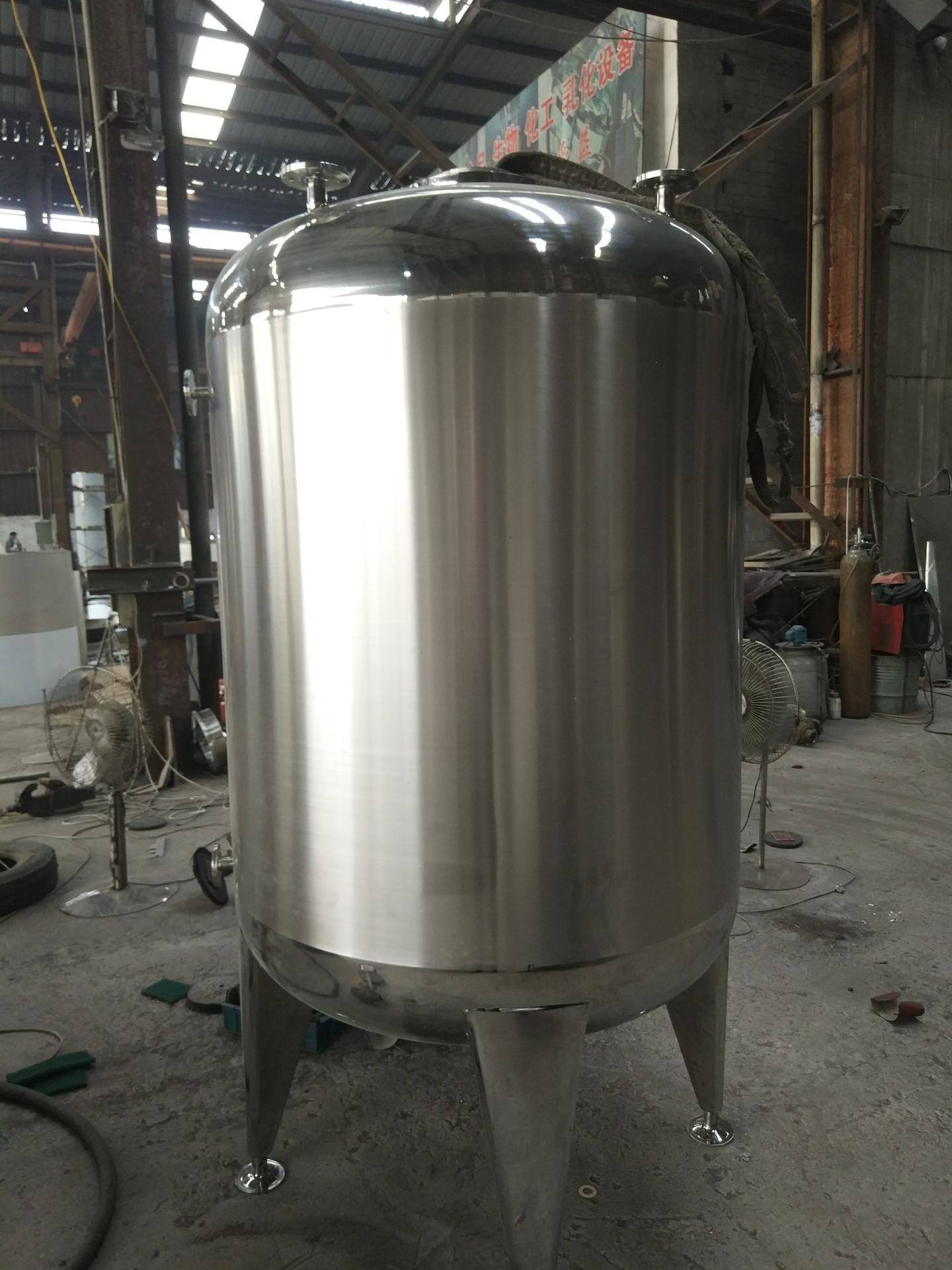 不锈钢储罐大型5000L304卫生级储罐储液罐储水罐立式不锈钢储罐
