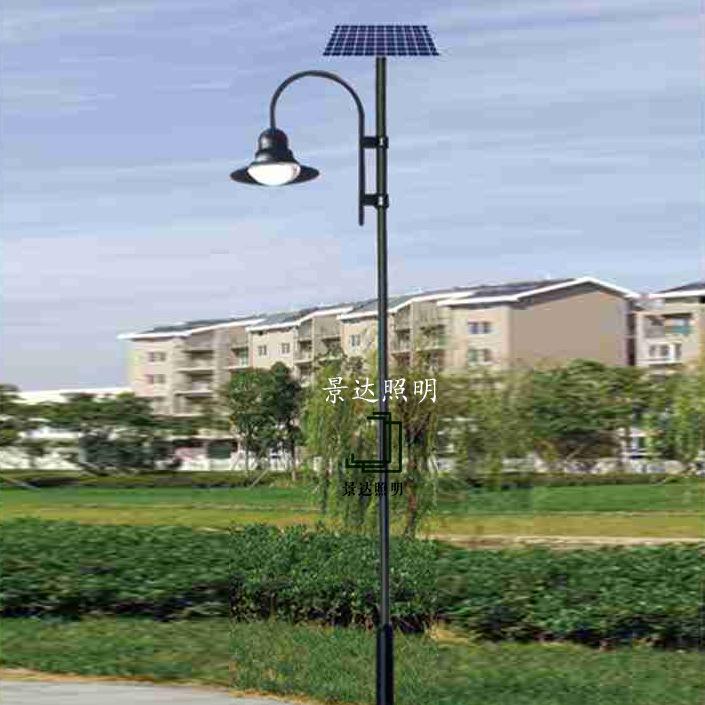 3米4米太阳能庭院灯锂电/胶体太阳能路灯 景达工程照明