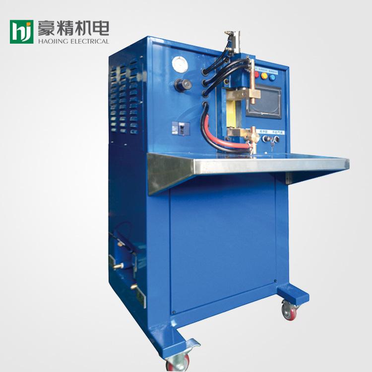 豪精厂家直销气动平台式无痕电阻点焊机 小型镀锌板焊接机3c定制