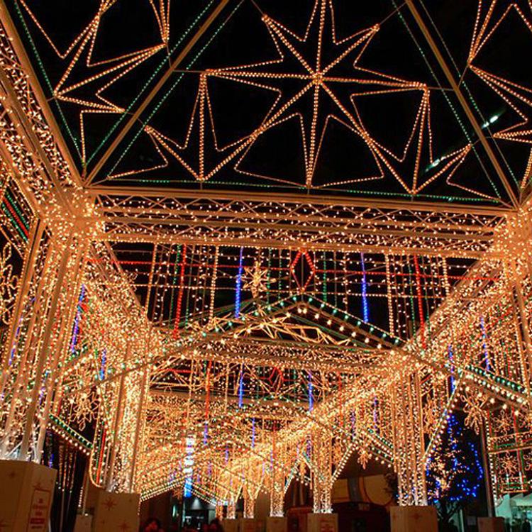 艺术景观灯气饰节庆节日喜庆庆典户外大型钢架拱门街道彩灯门头