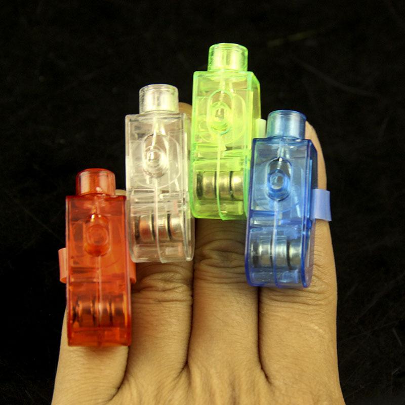 万圣节人气发光电子玩具炫彩手指灯 任何方式