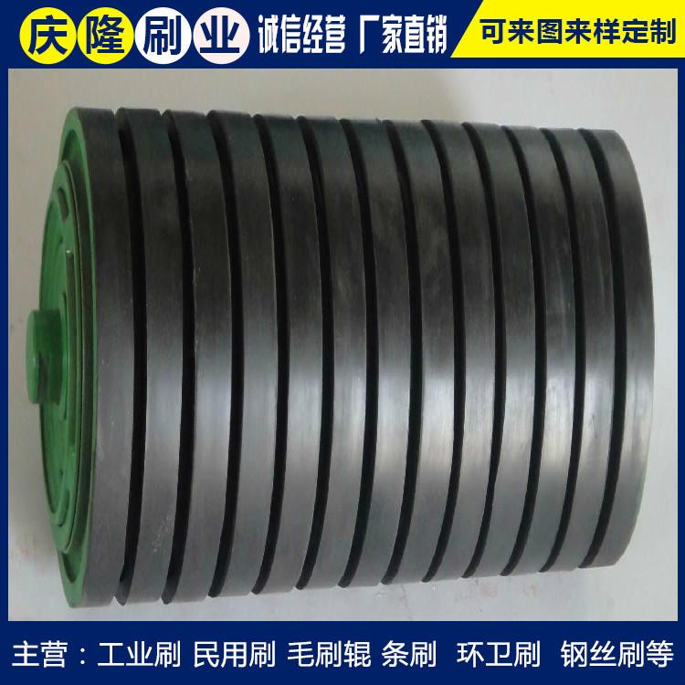 厂家定做供给聚氨酯胶辊 庆隆刷业 橡胶辊 可定制