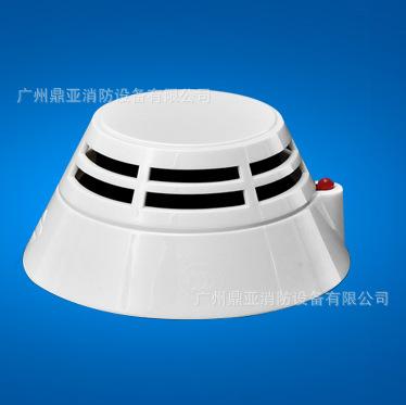 气体灭火零碎公用编码型点型光电感烟探测器直销 泛海三江