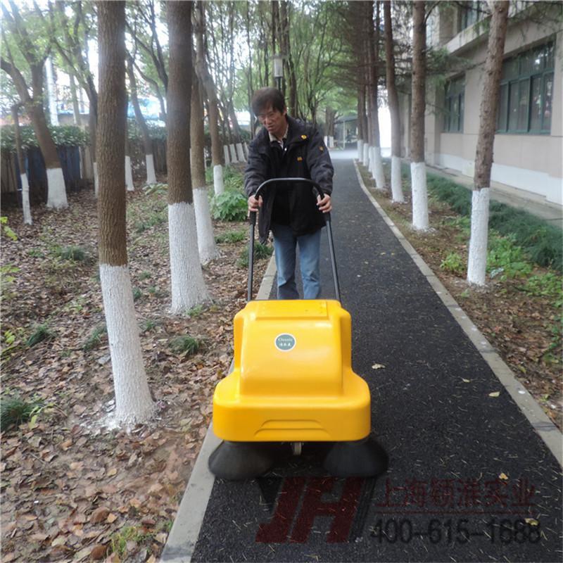 路线打扫车路面打扫机手推式二合一扫地机手推打扫车马路打扫车