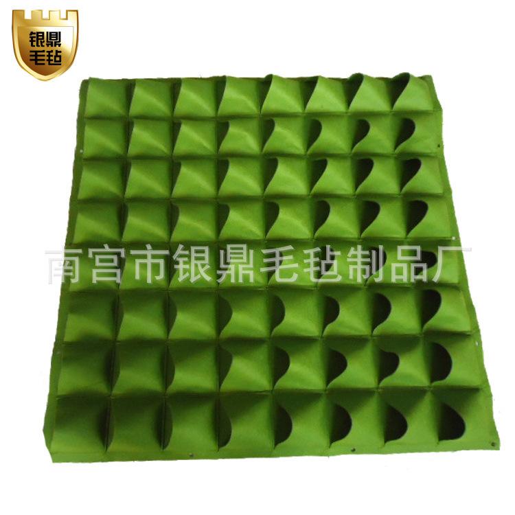 绿化工程环保育苗植物袋 毛毡植物袋 组合式,吊盆式,壁挂式