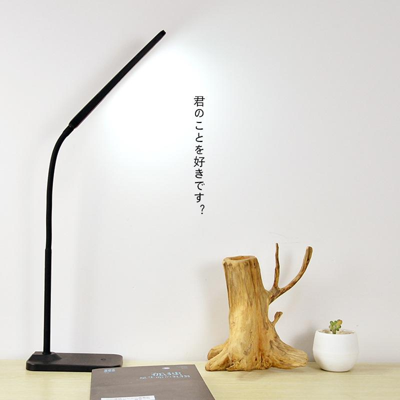 Led创意台灯 LED 触摸式 简约现代 LOGO贴牌