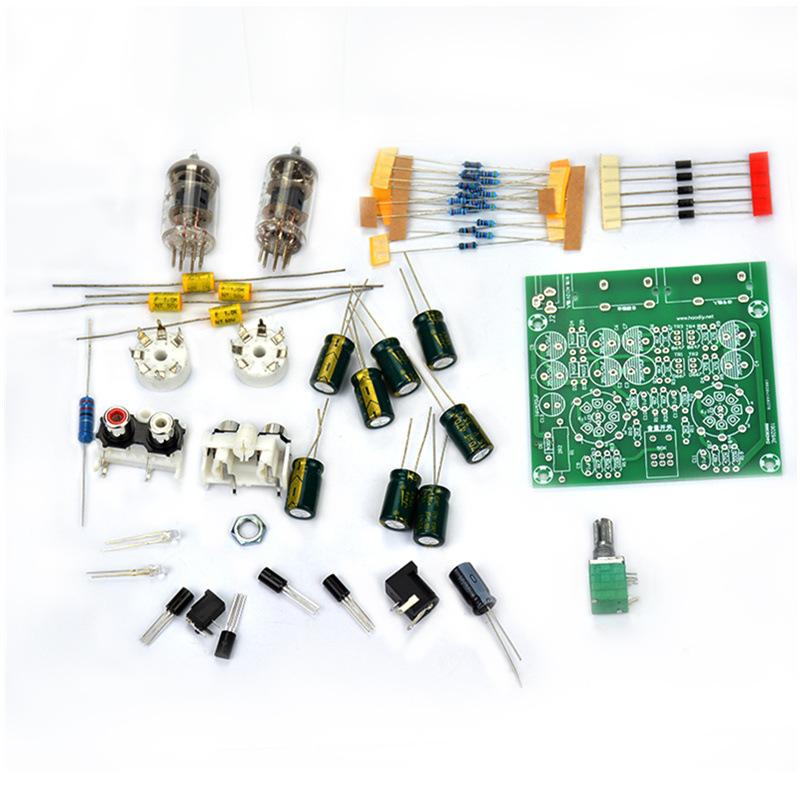 发烧6j1电子管前级放大器胆机耳放前级胆缓冲效果器diy套件