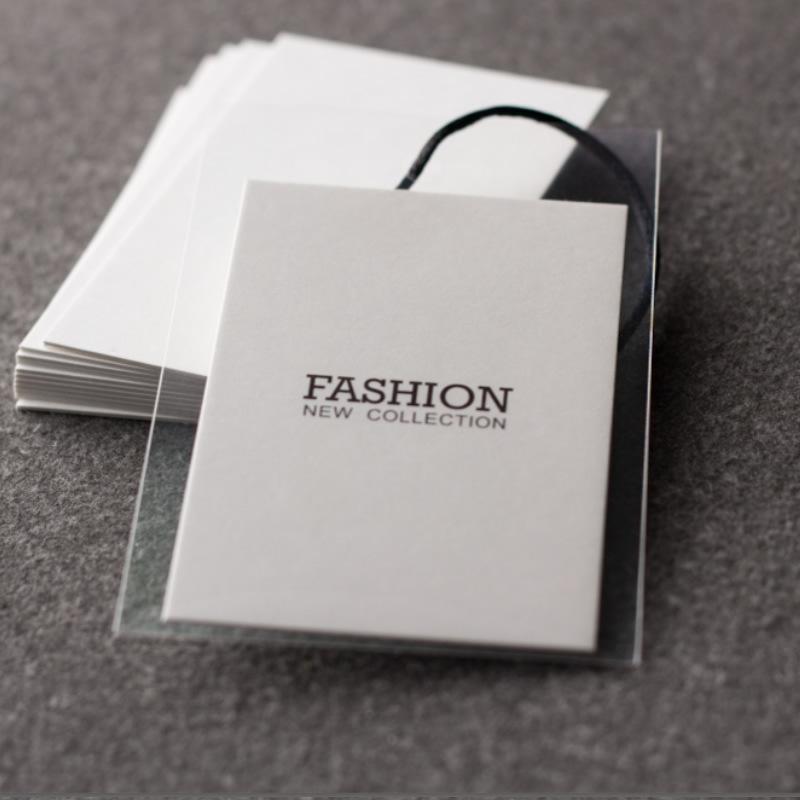 男装女装吊牌领标唛头制造牛皮纸图片吊牌定制设计 牛皮纸