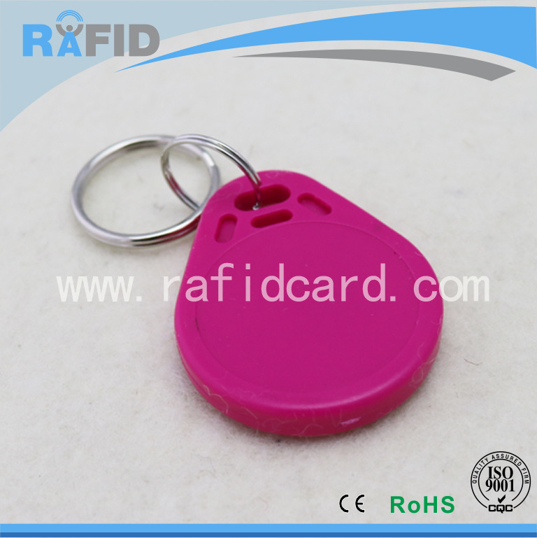 ID智能异型17B钥匙扣TK4100感应卡射频卡芯片