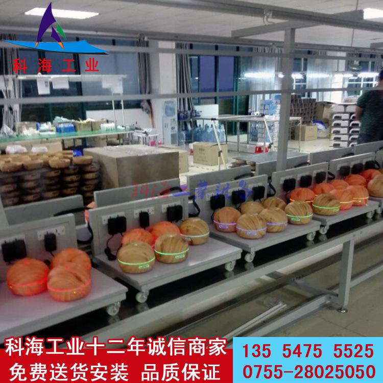 净水器组装测试生产线 科海工业 KH-LSX 产品组装 非标定制