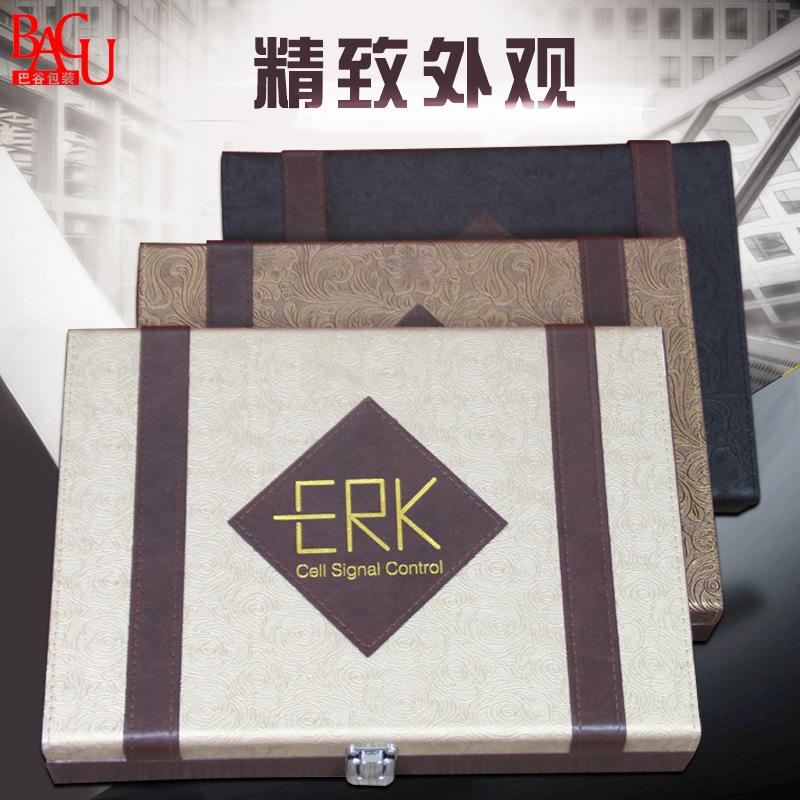 养生护发产品包装皮盒 pu皮革 销售包装/终端包装 包装盒
