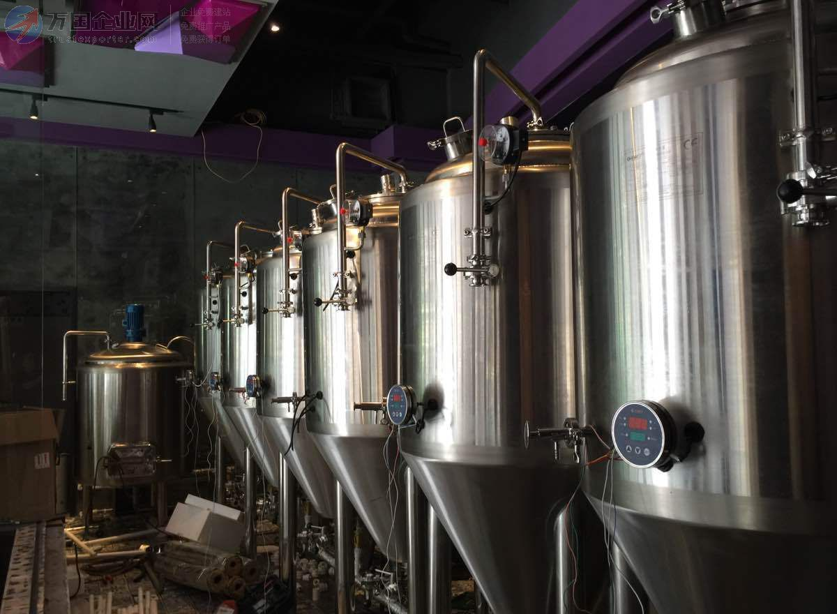 二手精酿啤酒设备  扎啤鲜啤酒设备