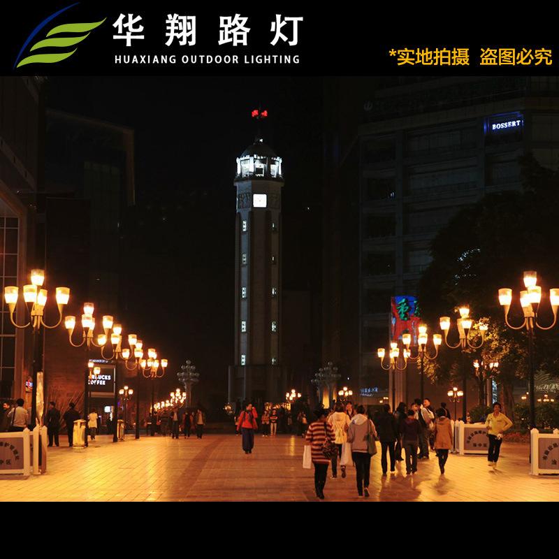 方形中式led景观灯广场小区公园风景区景观灯3米不锈钢外型景观灯