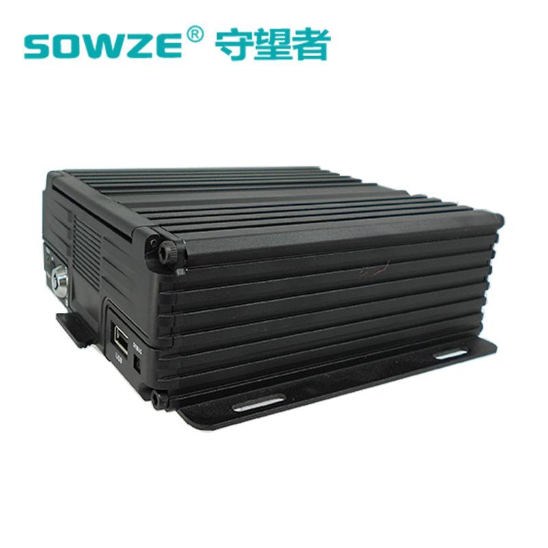 4路多功能AHD车载录像机 SOWZE 嵌入式 支持PC/手机远程监控